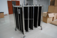 Esd trolley cart for PCB storage