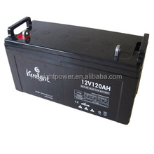 Kweight Deep Cycle Rechargeable battery 12v 120ah sealed lead acid Solar battery