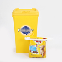 Food Sealing Box Airtight Puppy Pet Food Container