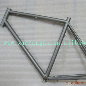 titanium cyclocross bicycle frame custom super light mtb bike frame mountain bicycle frame with disk brake