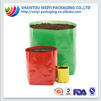 Strong plant grow bag container poly bag for plants