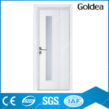 Goldea hot selling wood grain entrance interior mdf inner door