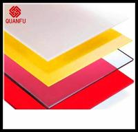 Interactive counter environment friendly gwx lexan polycarbonate sheet price supplier