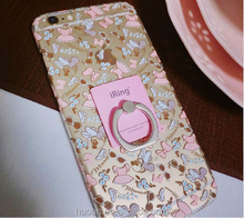 Mobile phone cover case lazy finger wholesale for various mobile phone