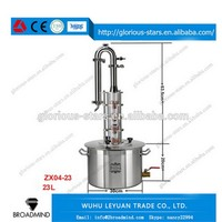 LX2007 China Wholesale High Quality water distiller reviews Stainless Steel still distillery reviews