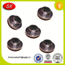 custom Carbon steel Rod Tube Screw Cap for fly reel screw