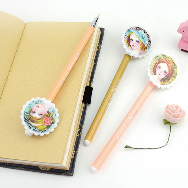 Languo promotional cute style gel ink pen