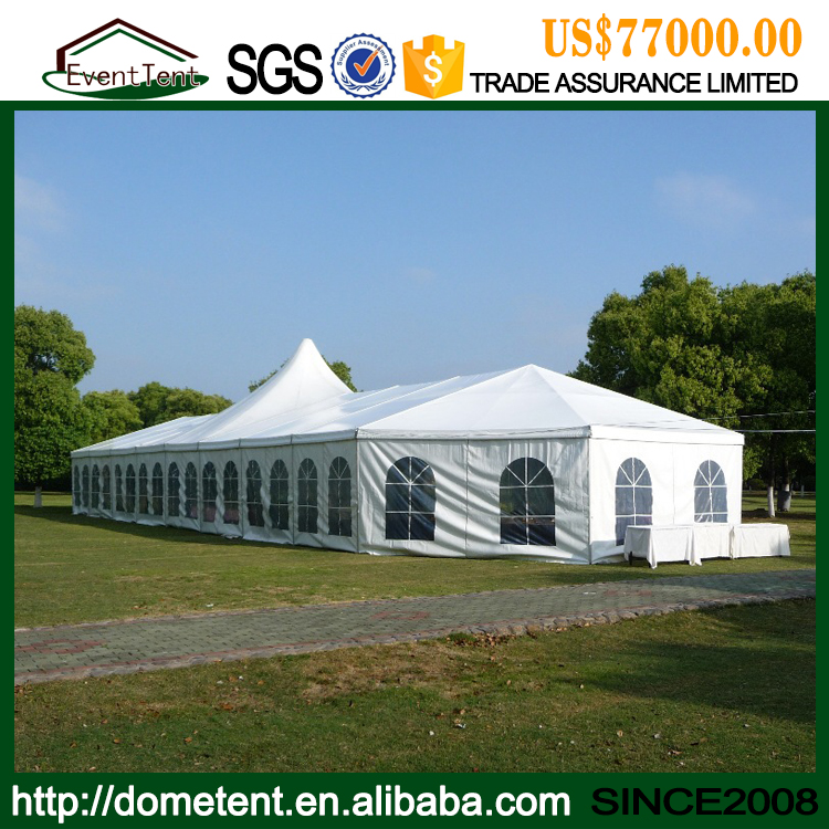 Clear Span 15m Luxury Canopy Octagonal Party Wedding Tent For Hot Sale