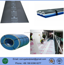 PP Material Corrugated Plastic Floor Protection Sheets