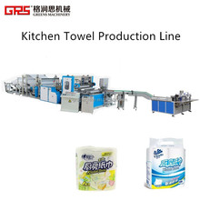 paper kitchen towel making machine