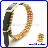 high quality wholesale supplies wide glowing dog collar