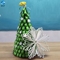 Beauty Romantic flowers wall artificial christmas tree for stage backdrop