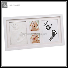 baby hand print kit Photo Frame With Hand Imprint Clay
