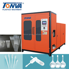 Automatic plastic dropper bottle pipette extruder blow molding machine