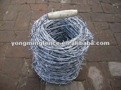 heavy duty & low cost galvanized barbed wire
