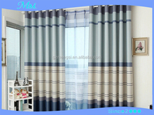 Customized design style factory direct sale vertical shading satin drill curtain