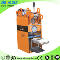 Aomatic sealing machine with most popular High quality Automatic induction plastic heat cup sealing machine WY-802F-12