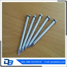 Made in China hot sale galvanized 45 steel concrete nails factory
