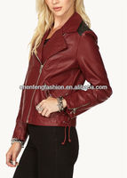 CHEFON Edgy Faux Leather Jacket CFV0021