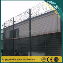 2015 new products pvc coated 358 high security prision fence panel