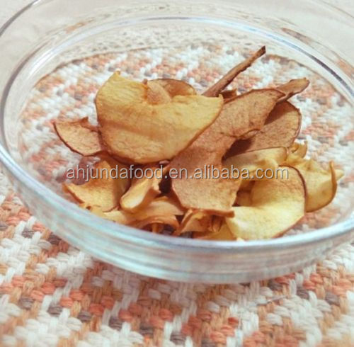 2017 Hot Sale Dehydrated Apple Slices Air Dried Fruits