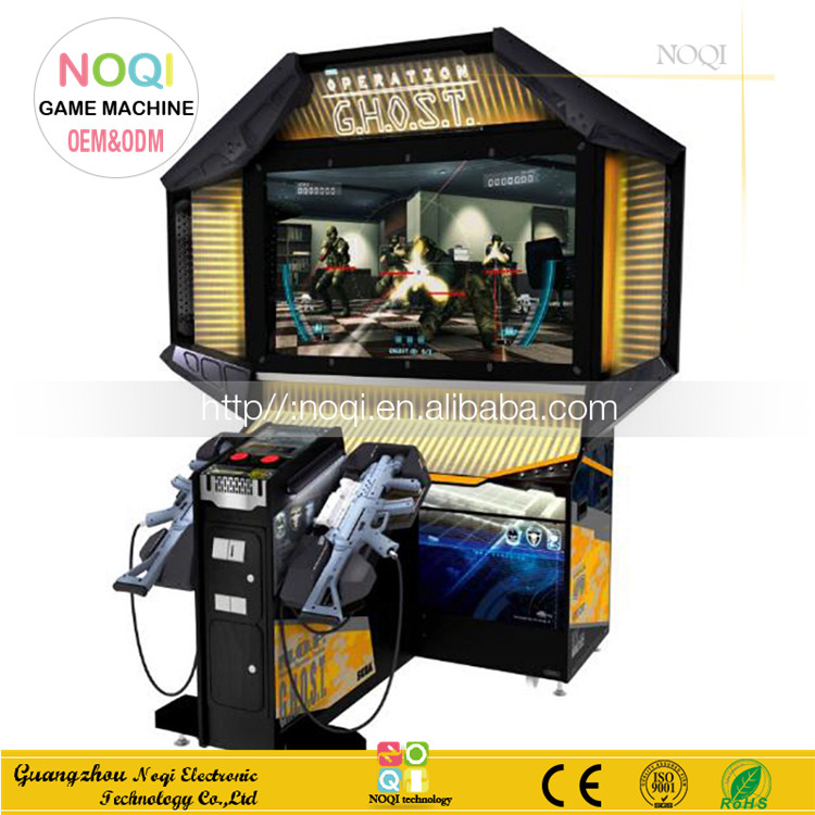 Operation Ghost newest shooting game machine coin operated gun fight simulator electronic gaming arcade machine