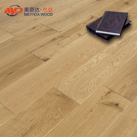 14mm Oak Brushed multilayer engineered wood flooring