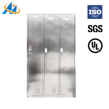 Cheap changing room 3 door stainless steel storage lockers luggage parcel locker metal school locker