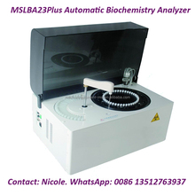 2017 Open reagent system MSLBA23Plus full automatic clinical blood chemistry analyzer