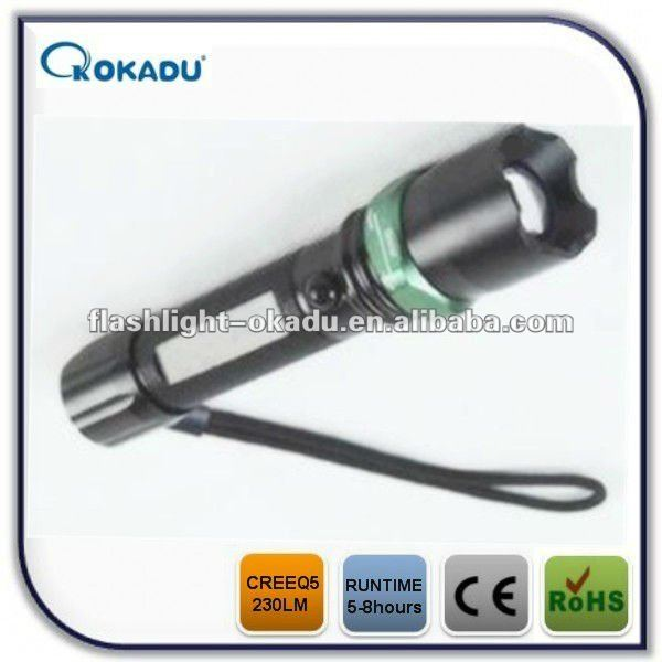 hand press led torch and swat flashlight