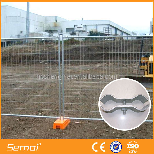 Hot Dipped galvanized cheap temporary fence post base