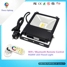 Factory Direct Sales Ac85-265V Led Flood Light Garden Tree Reflector Wall Washer Ip65 Waterproof Led Sport Ground Flood Light