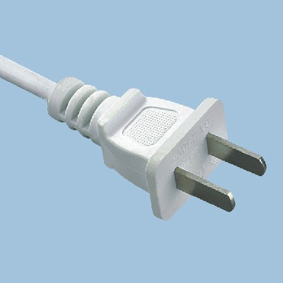 PBB-6 6A 250V CCC power cord 2 core plug in China electrical wire for home application