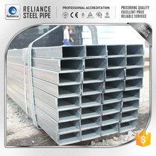 HOT ROLLED GI GALVANIZED RECTANGULAR HOLLOWSECTION STEEL SCAFFOLD PIPE TUBE