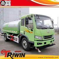 hot sale cheap price new china small 4X2 160 hp 5000 l tank fire truck