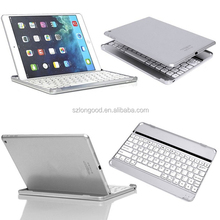 Portable Bluetooth Keyboard for Ipad2, Aluminum Cover Mini keyboard bluetooth for tablet