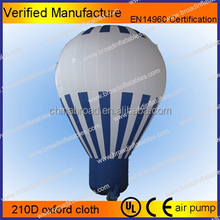 2012 hot selling inflatable balloon helium blimp helium balloon