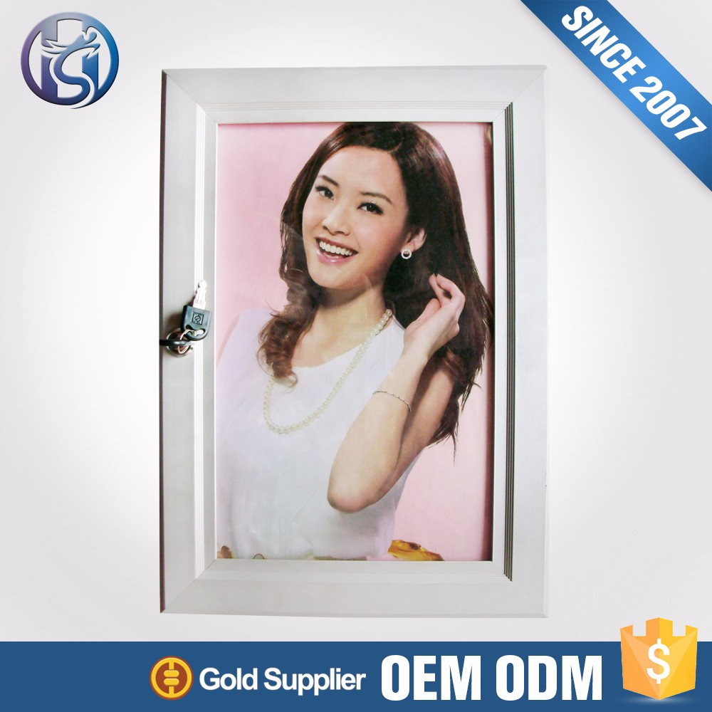 wall-hung picture snap frame for advertising HS-K22