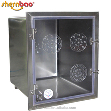 Shernbao KA-509-TH Stainless Steel pet cage oxygen therapy for dogs