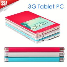 Wholesale 6.98 inch GSM Phone Call Cheap Tablet PC Android 4.4 MTK6572 leather case