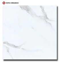 Unrectified white marble tile 600x600 AAA grade, First choice chinese supplier porcelain travertine 24x24