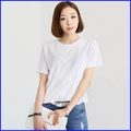 Top fashion design your own blank t shirt china wholesale bamboo best slim fit blank t-shirt