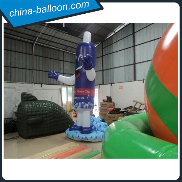 Inflatable air toothpaste model for promotion advertising