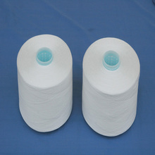 less broken ends polyester ring twist yarn for sewing thread