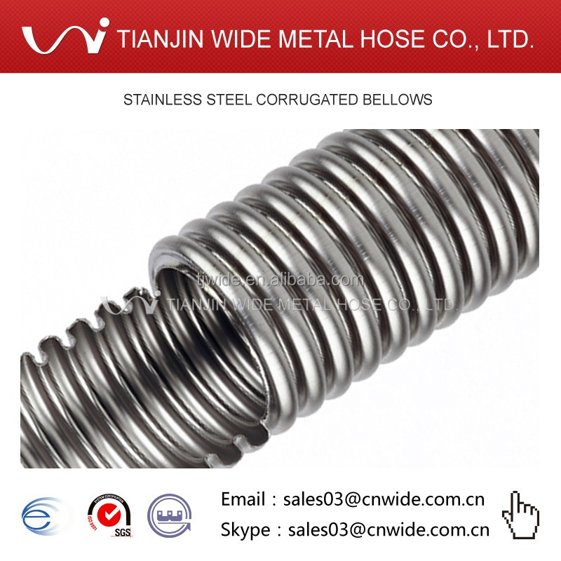 Inch stainless steel bellows pipe buy