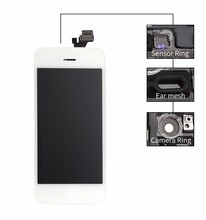 Factory price!!! high quality mobile phone spare parts for iphone 5 lcd