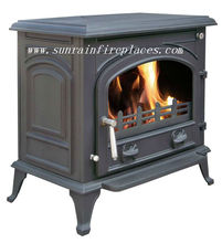 cast iron wood stove with boiler(JA072B)