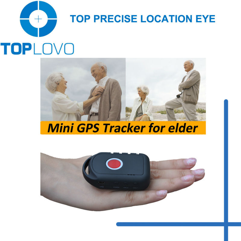 Toplovo Sim Card GPS Tracking Device Google Maps with Hand-Free Phone Call and Realtime Tracking Function TL202 0039