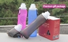 Water Bottles Drinkware Type and Eco-Friendly/FDA Approval Foldable Squeezable Silicone Travel Bottle