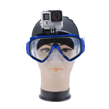 New Arraived GOpros Diving Mask with Diving Breath Snorkel Mask for Go Pro GP231
